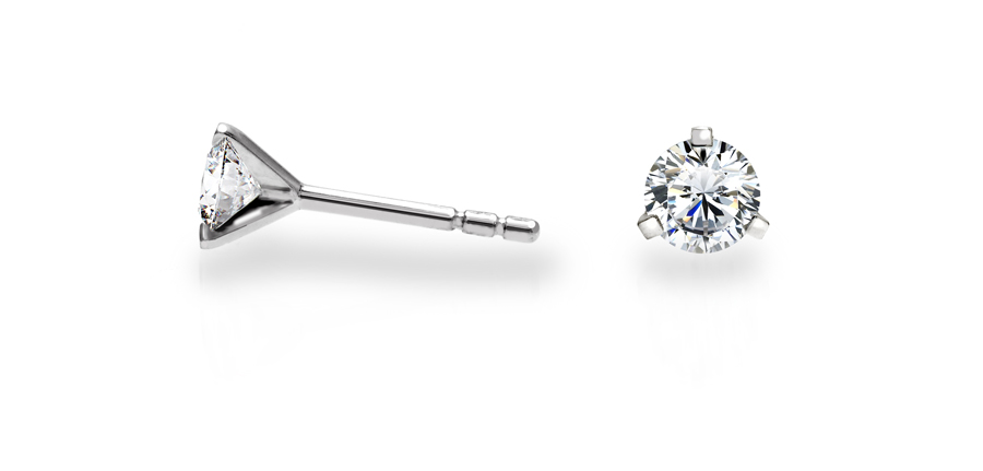 Diamonds on Vesting - Bijoutier Anvers - Boucles d'oreilles