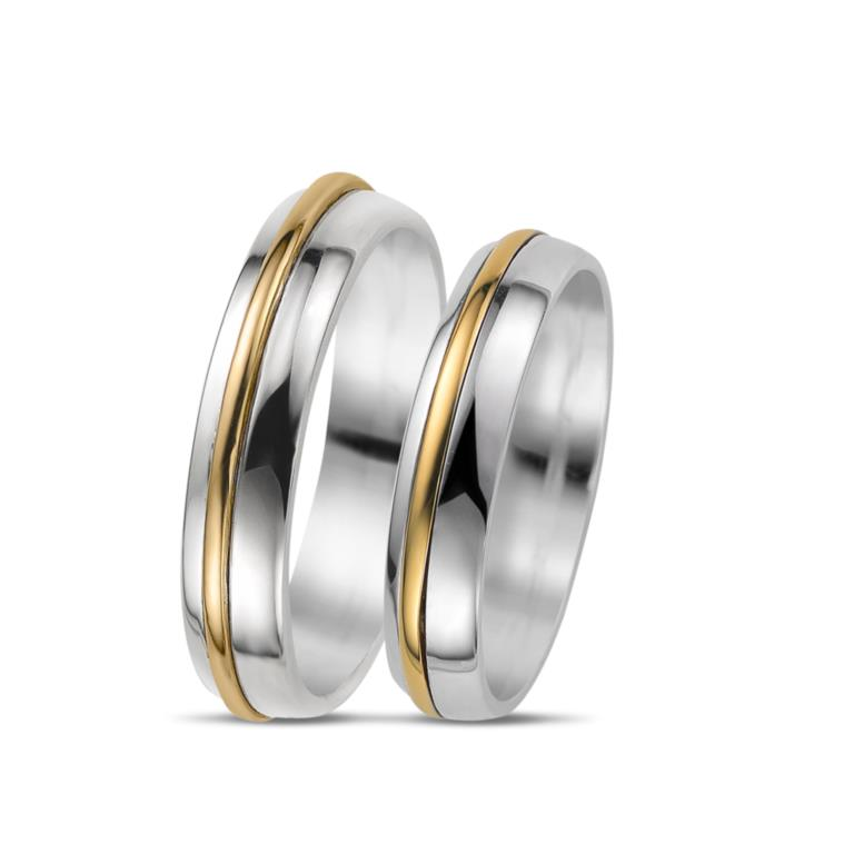 Carousel - Wedding bands - Diamonds on Vesting