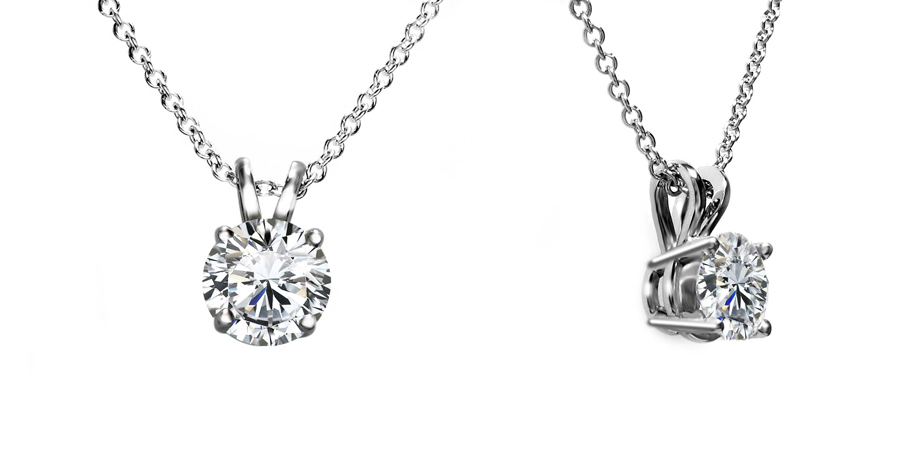 Classic - Necklaces - Diamonds on Vesting