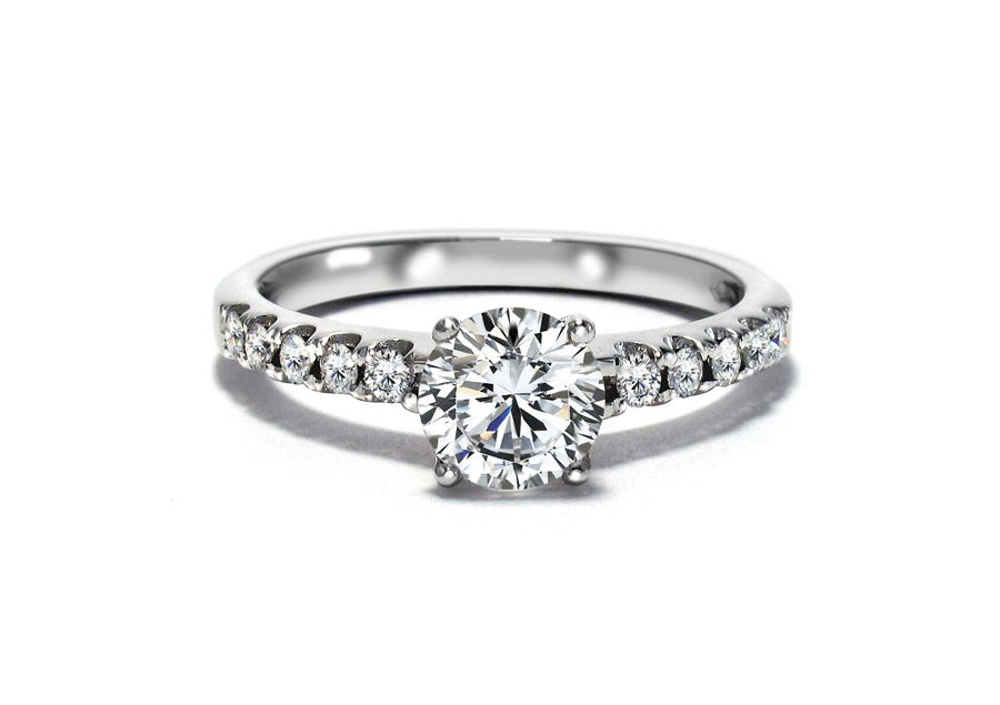 Florence - Engagement rings - Diamonds on Vesting