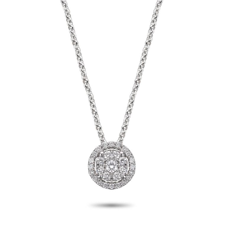 Illusion - Necklaces - Diamonds on Vesting