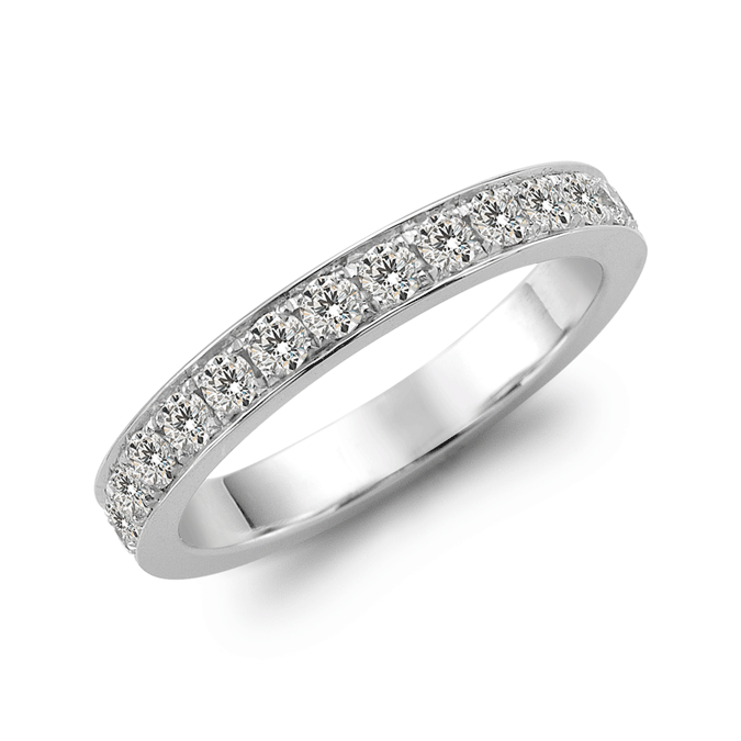 Munich - Wedding bands - Diamonds on Vesting