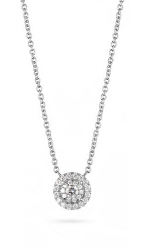 Diamonds on vesting Necklace Star of Antwerp
